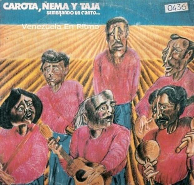 Carota Ñema y Tajá - Sembrando Un Canto (1983).j1pg