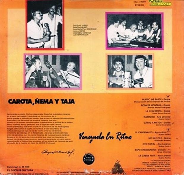 Carota Ñema y Tajá - Sembrando Un Canto (1983)