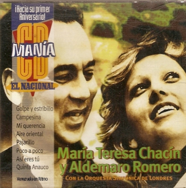 María Teresa Chacín Y Aldemaro Romero Con La Orquesta Sinfónica De Londres - 1976