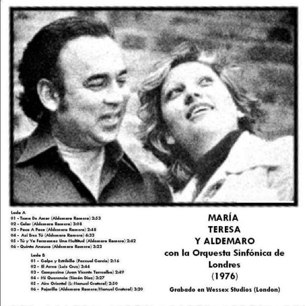 María Teresa Chacín Y Aldemaro Romero