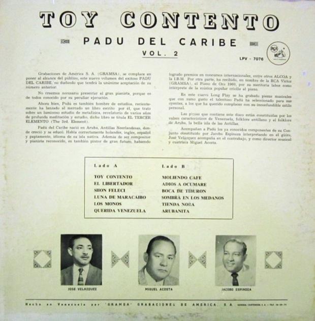 R Padu Del Caribe - Toy Contento