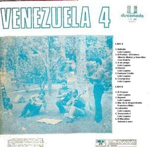 Venezuela 4 trasera