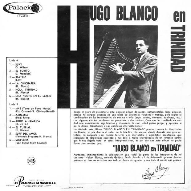 Hugo Blanco en Trinidad -contraportada