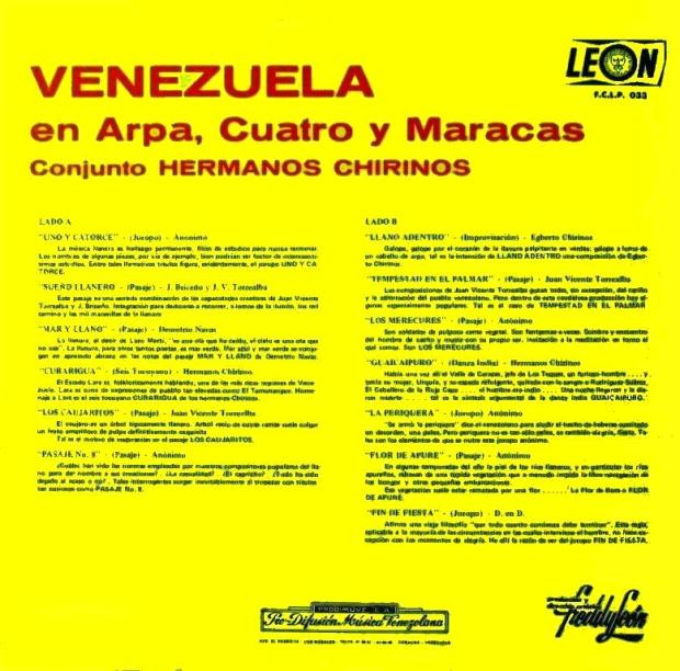 Venezuela en  Arpa Cuatro Y Maracas  t