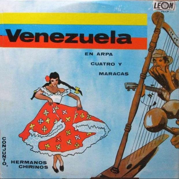 Venezuela en  Arpa Cuatro Y Maracas