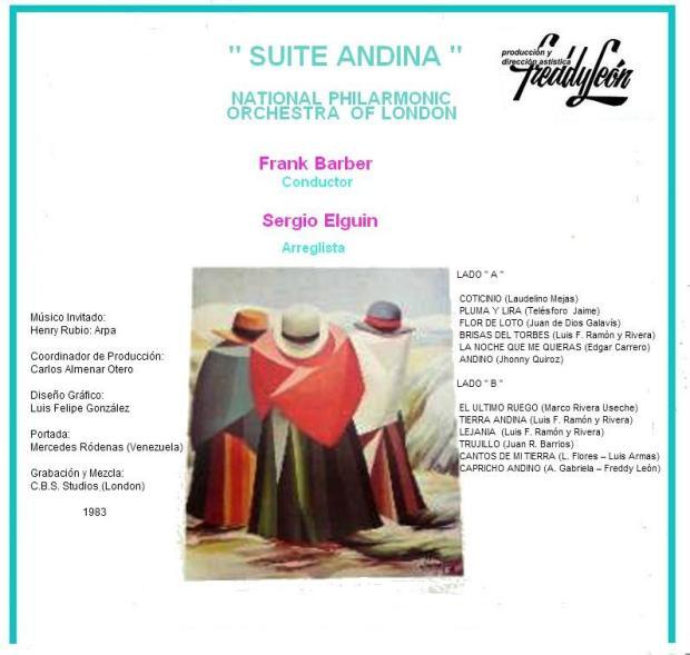 Venezuela Suite - Suite Andina tras