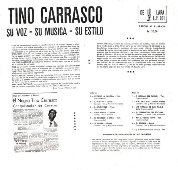 Tino Carrasco Trasera