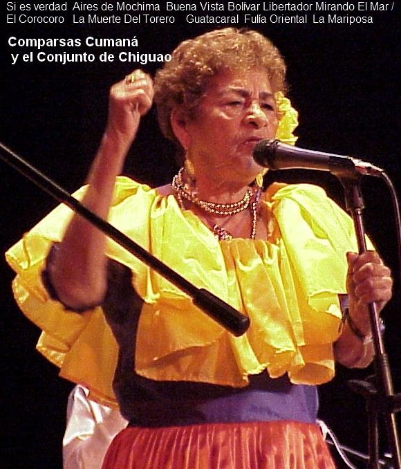 Comparsas Cumaná y el Conjunto de Chiguao