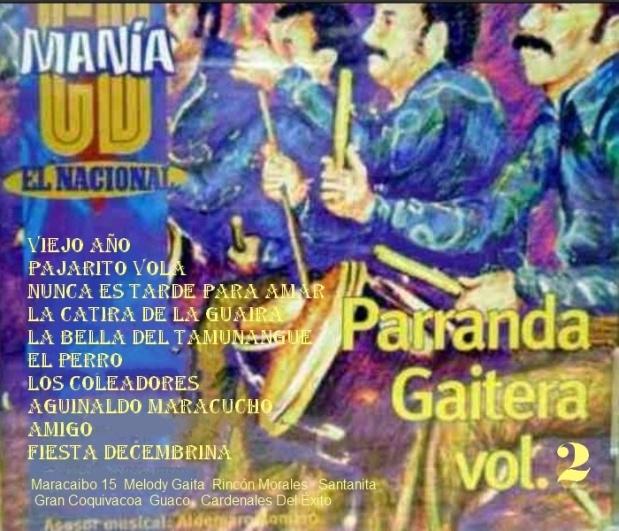 CD MANIA _ - El Nacional - Parranda Gaitera - Vol. 2 - 1998
