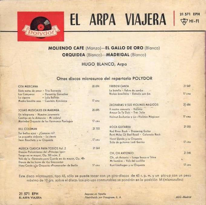 Hugo Blanco - El Arpa Viajera (2/2)